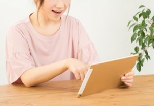 タブレットで電子書籍を読む