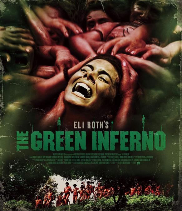 イーライ・ロス監督のモンドホラー映画「グリーン・インフェルノ」のイメージ